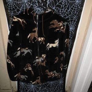 Horse All Over Print Hoodie